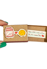 Matchbox Card You Are Milk to My Cookies