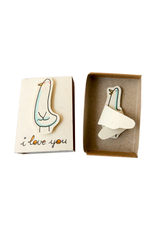Matchbox Card I Love You This Much Birdy