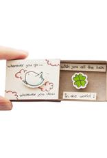 Matchbox Card Wherever You Go..