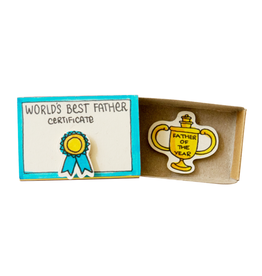 Matchbox Card World's Best Father