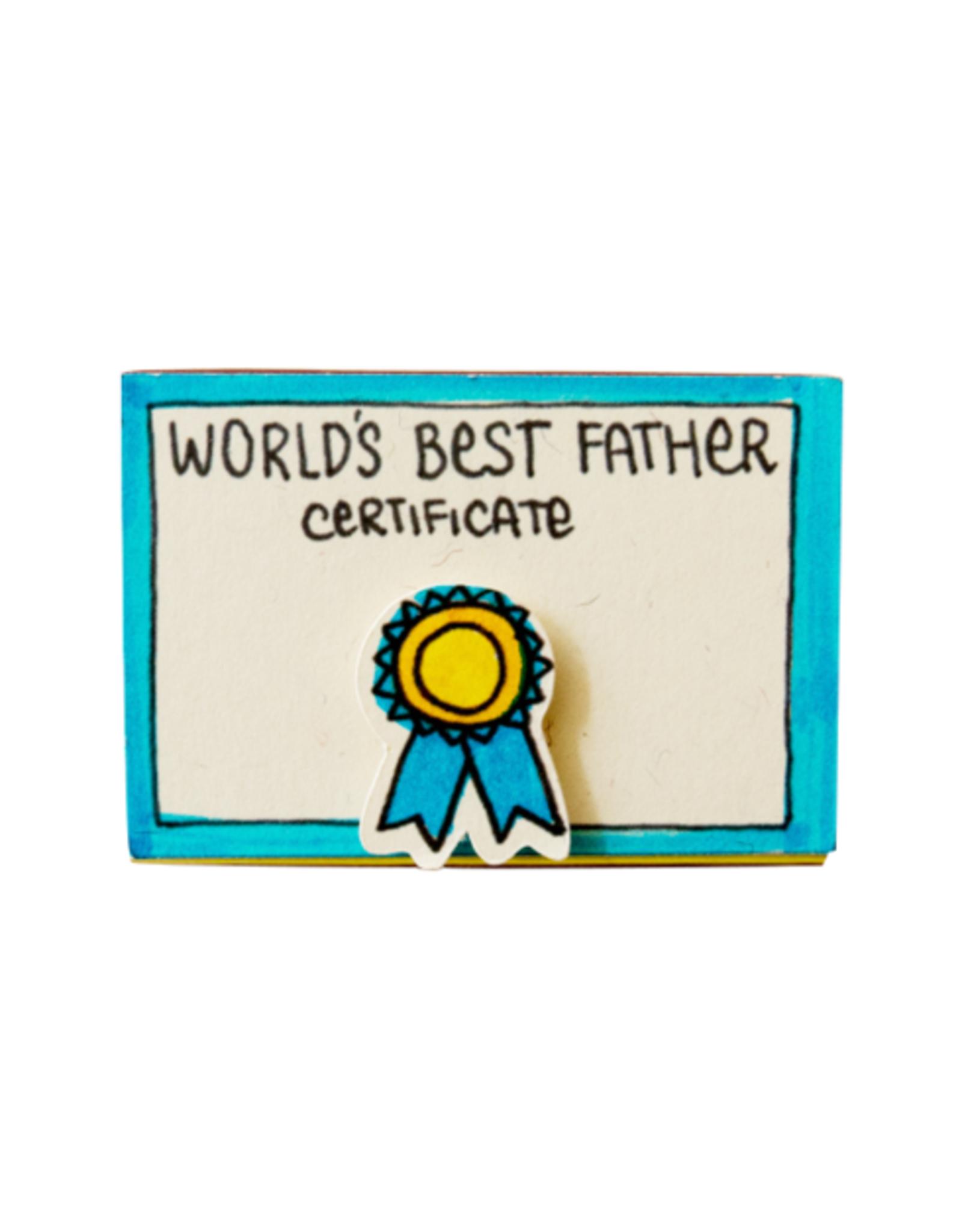 Matchbox Card World's Best Father
