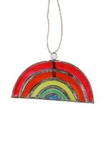 Capiz Rainbow Ornament