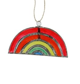Capiz Rainbow Ornament