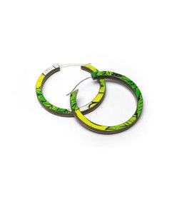 Maple XO Orbit Hoop Earrings, Small - Maple XO