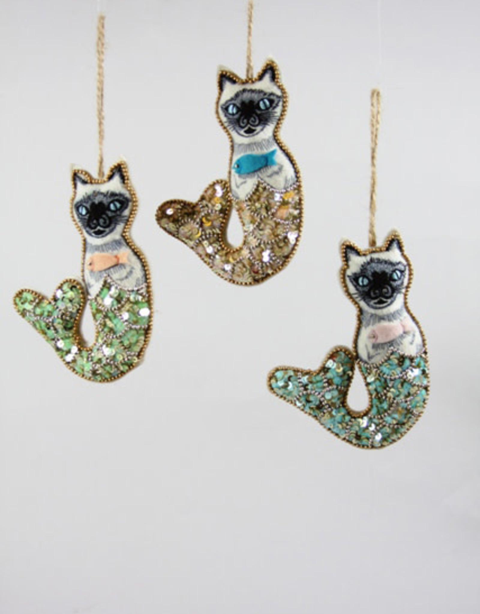 Mythical Mercat Ornament