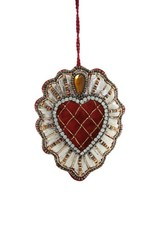 Quilted Heart Ornament