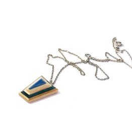 Maple XO G-Metric Recycled Skateboard Necklace