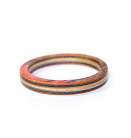 Maple XO Classic Bangle Bracelet recycled skateboards