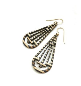 Maple XO Jacoby Earrings- recycled skateboard jewelry