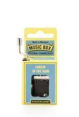 Kikkerland Hand Crank Music Box, Singing in the Rain - Kikkerland