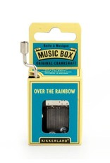 Kikkerland Hand Crank Music Box, Over The Rainbow - Kikkerland