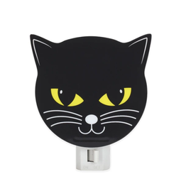 Kikkerland Black Cat Night Light - Kikkerland