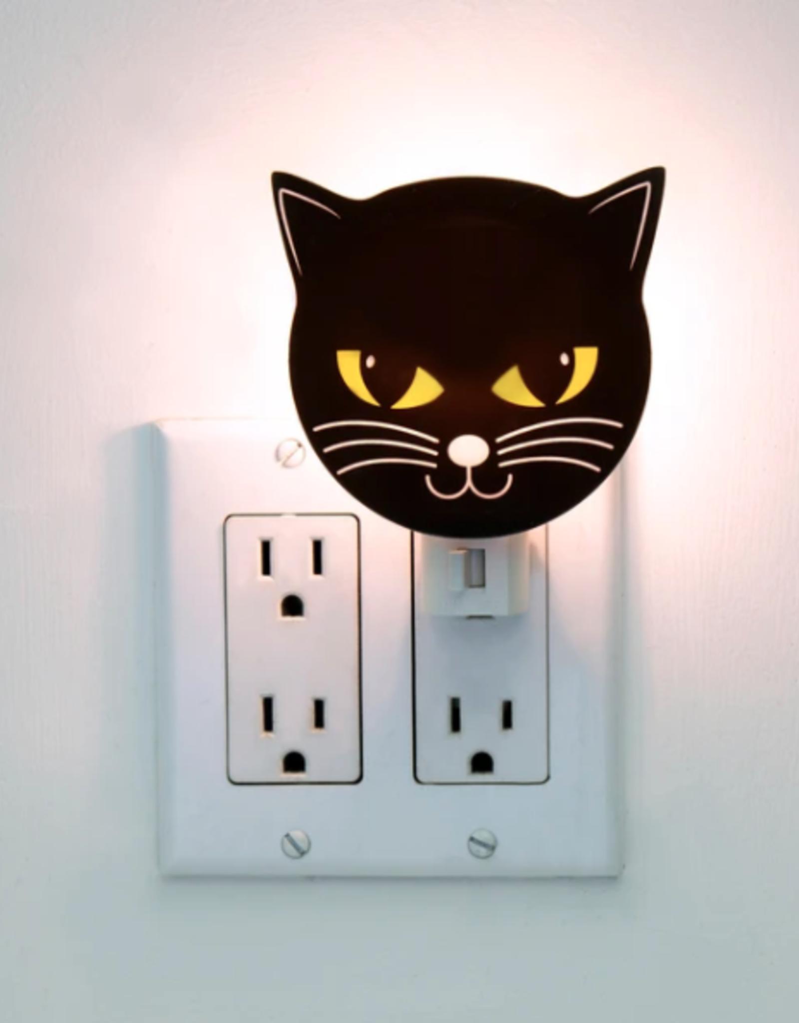 Kikkerland Black Cat Night Light - Kikkerland