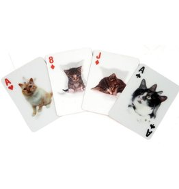 Kikkerland Lenticular Cat Playing Cards - Kikkerland