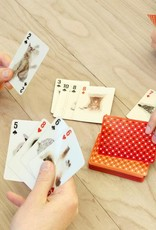 Kikkerland Lenticular Cat Playing Cards - Kikkerland