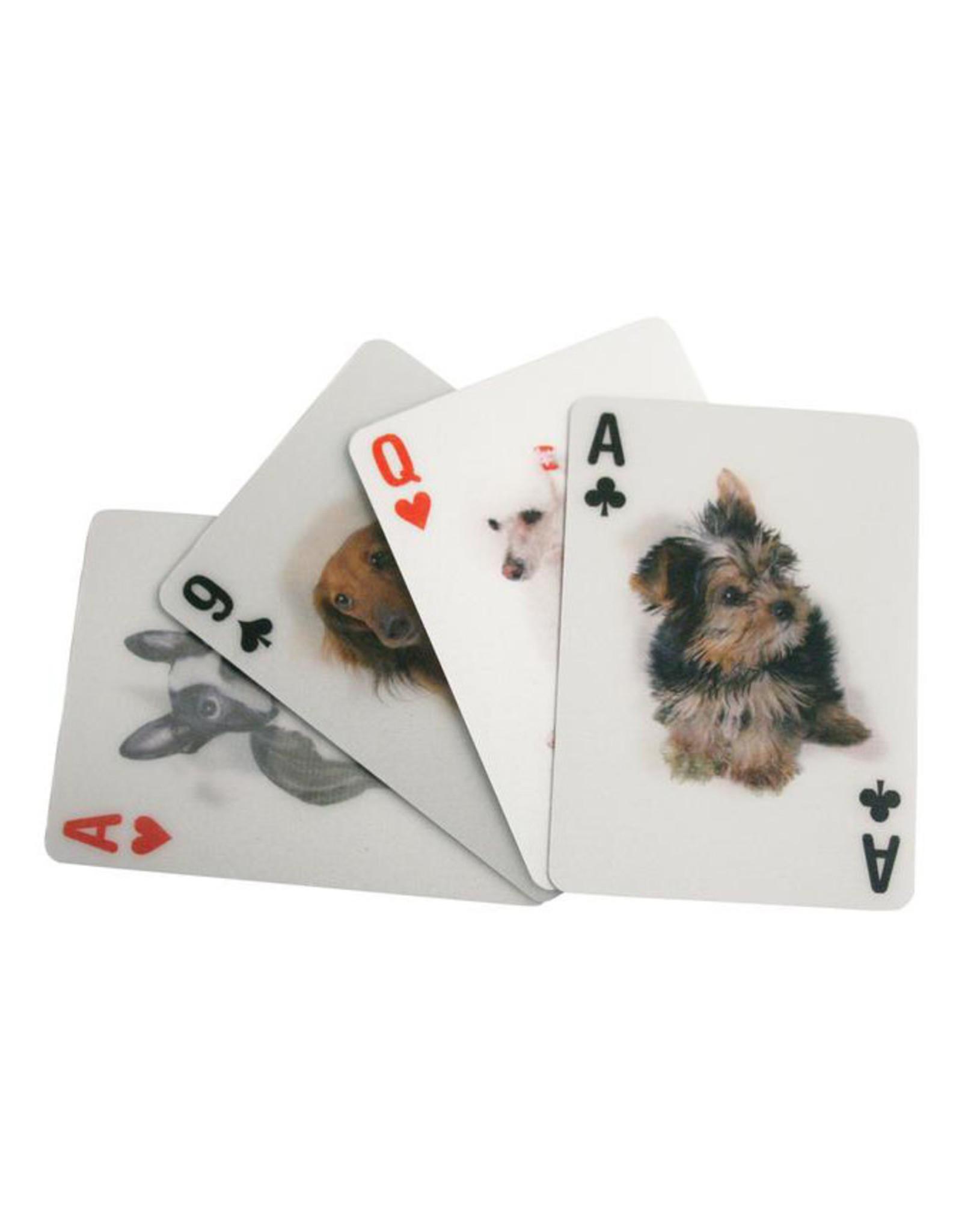 Kikkerland Lenticular Dog Playing Cards - Kikkerland
