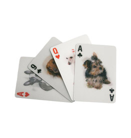 Kikkerland Lenticular Dog Playing Cards - Kikkerland