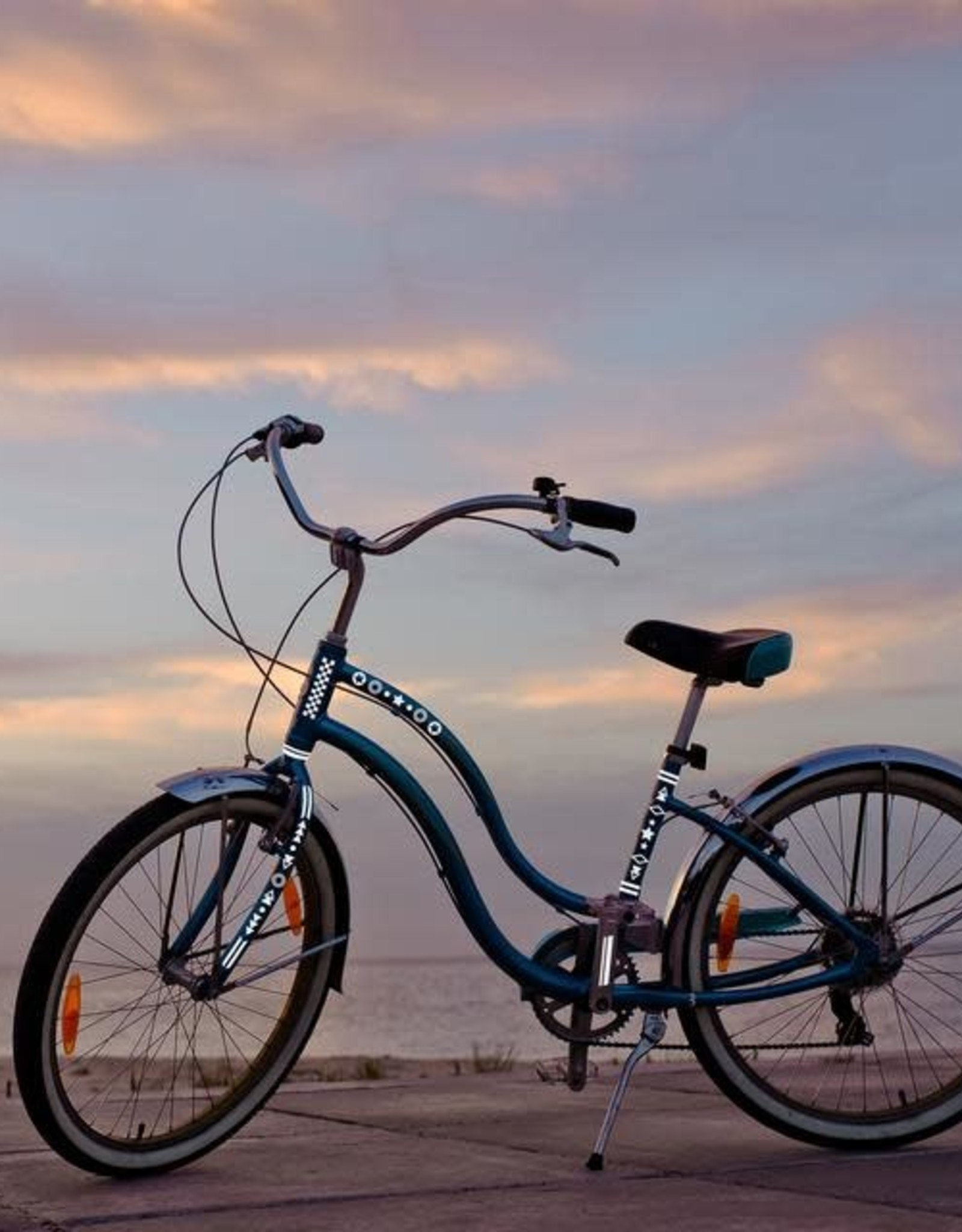 Kikkerland Silver Bicycle Reflector Decals - Kikkerland