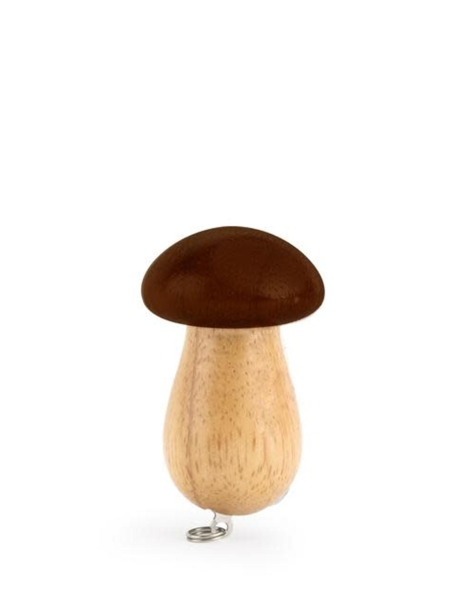 Kikkerland Mushroom Hunters Tool Keychain - Kikkerland