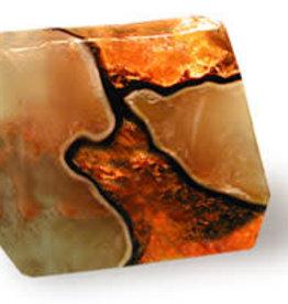 SoapRocks Fire Geode - SoapRocks
