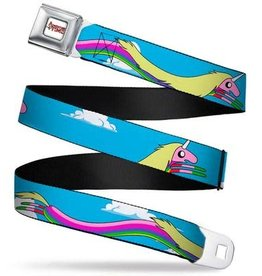Buckle Down Belts Adventure Time Seatbelt Belt - Lady Raincorn Poses