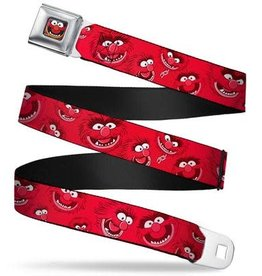 Buckle Down Belts Muppets Animal Seatbelt Belt