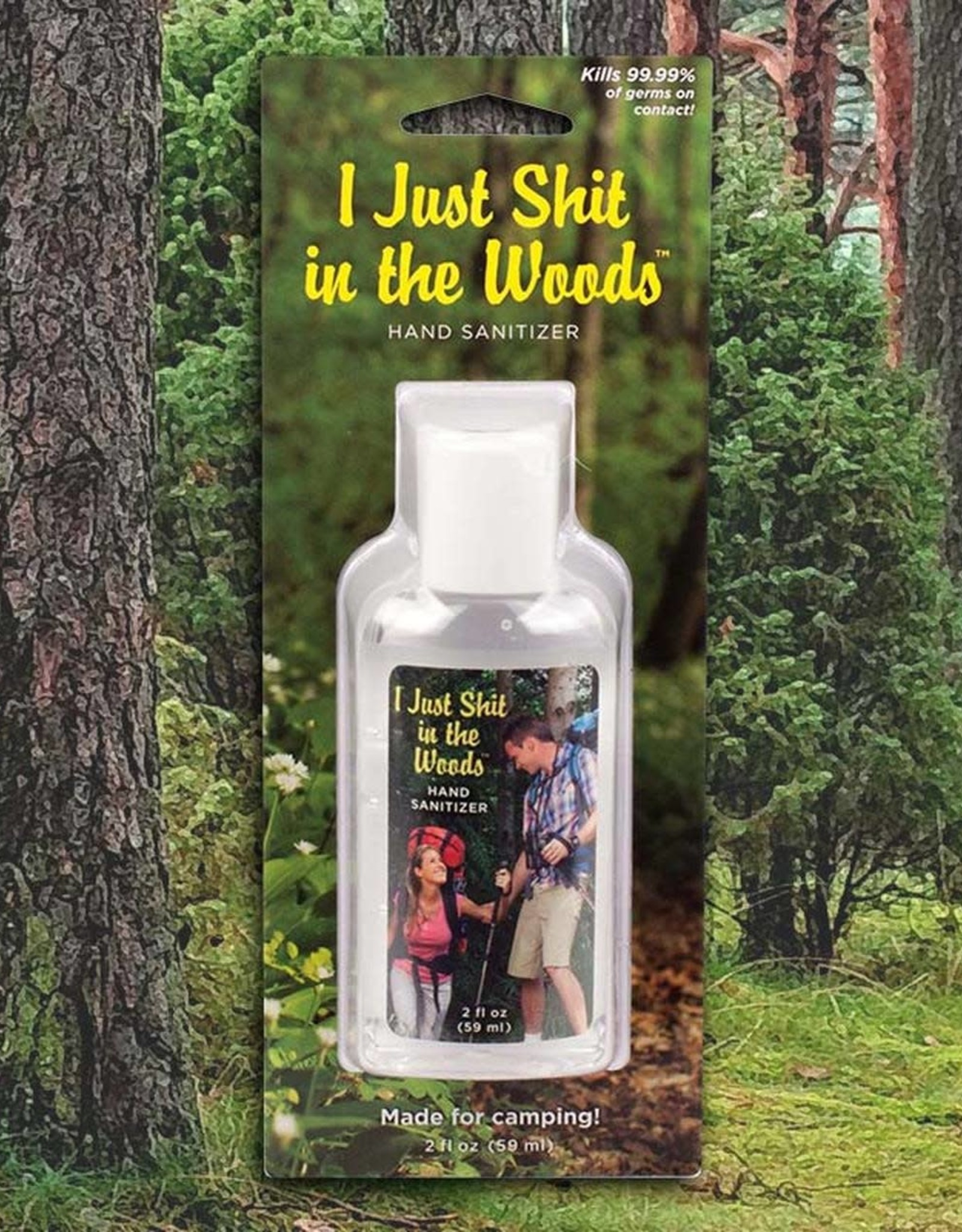 Blue Q ''I Just Shit in the Woods'' - hand sanitizer