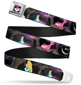 Buckle Down Belts Cheshire Cat Seatbelt Belt