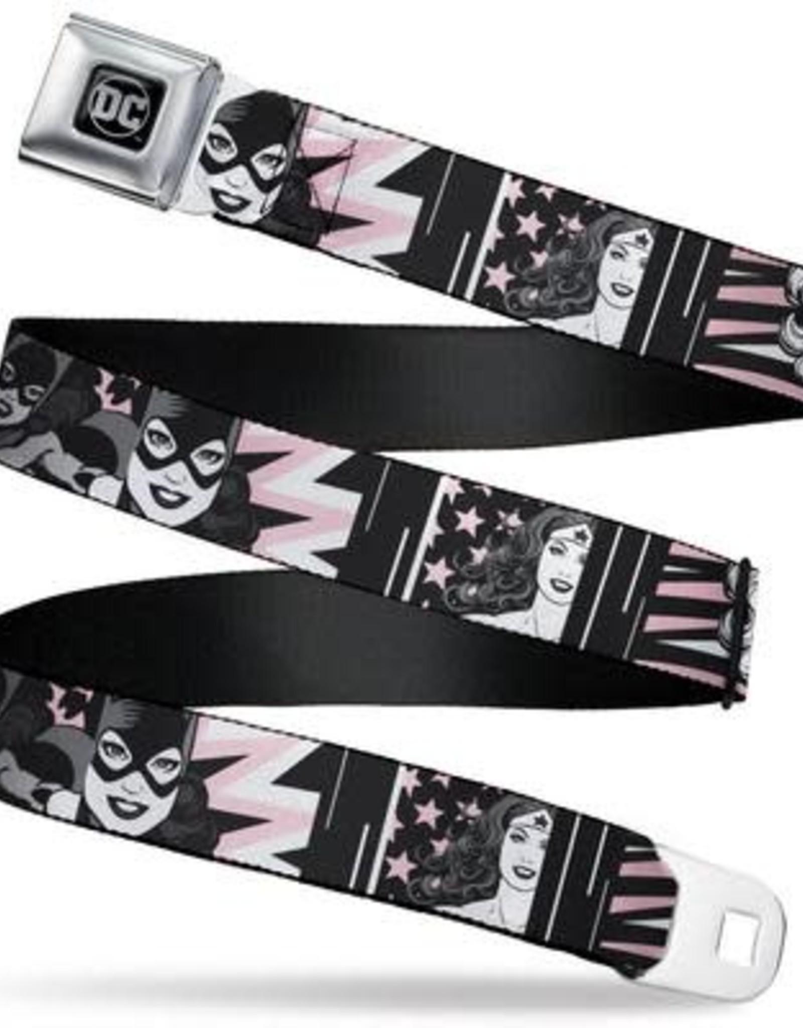 Buckle Down Belts Batgirl Wonder Woman Supergirl Seatbelt Belt