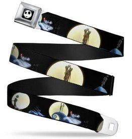 Buckle Down Belts Nightmare Before Christmas Jack & Sally Seatbelt Belt
