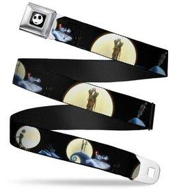 Buckle Down Belts Nightmare Before Christmas Jack & Sally Seatbelt Belt