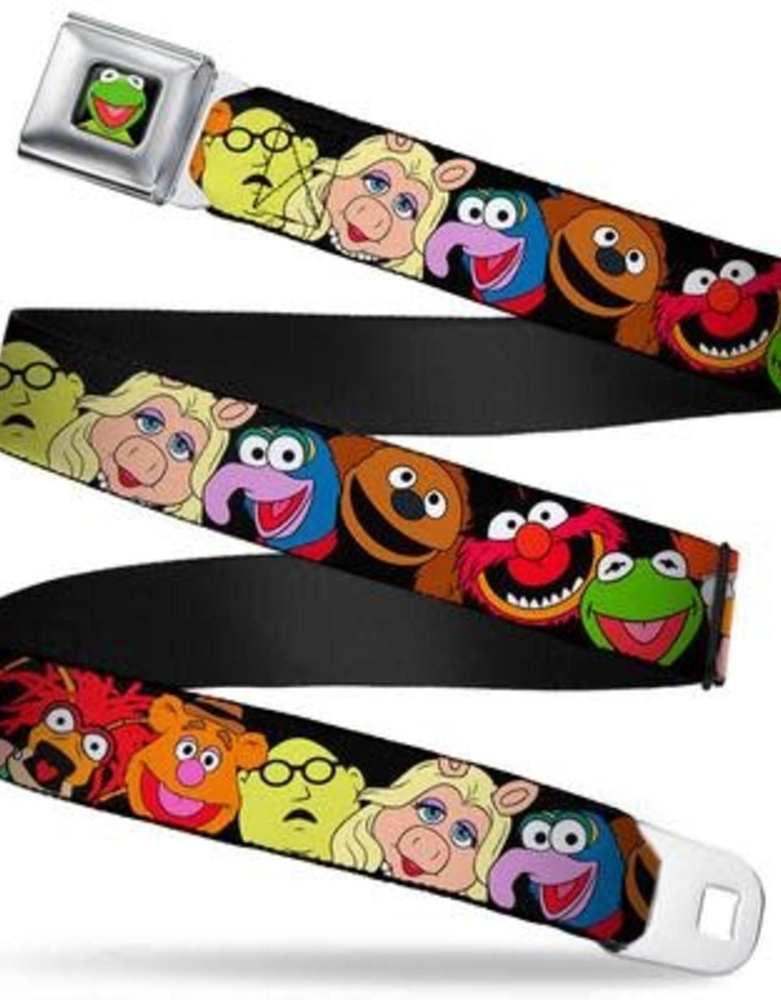 Buckle Down Belts Muppet Faces Seatbelt Belt