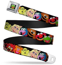 Buckle Down Belts Muppet Faces Seatbelt Belt