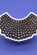 Dissent Pins RBG Dissent Collar Sticker - Dissent Pins