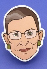 Dissent Pins RBG Sticker - Dissent Pins