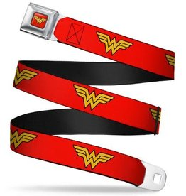 Buckle Down Belts Wonder Woman Logo  Seatbelt Belt