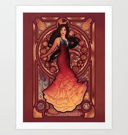 """Fire is Catching"" Art Print by Megan Lara"