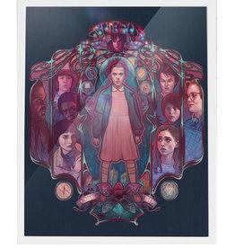 Friends Don't Lie (Stranger Things) Signed Art Print - Megan Lara