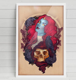 Raven/Mystique Art Print - Megan Lara