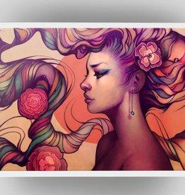 """""""Leah"""" Art Print by Megan Lara"""