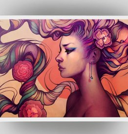 Leah Signed Art Print - Megan Lara