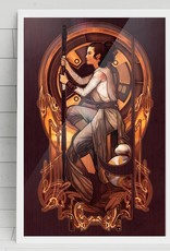 """Rey"" Art Print by Megan Lara"