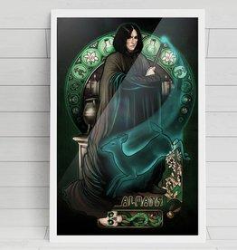 Always, Severus Snape Signed Fine Art Print - Megan Lara