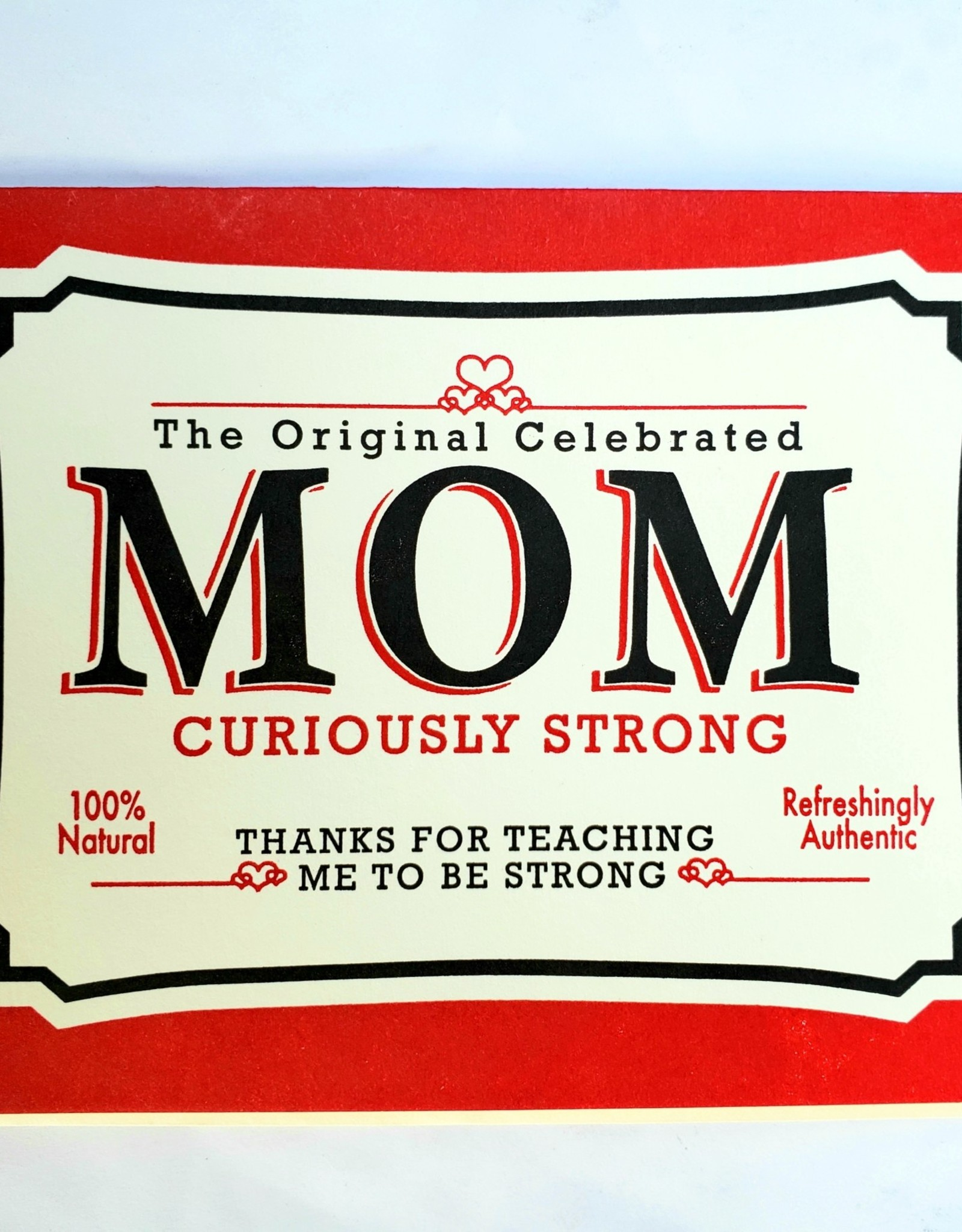Strong Mom Tin Mother's Day Greeting Card - A Favorite Design