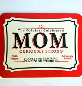 Mother's Day Strong Mom Tin Greeting Card - A Favorite Design