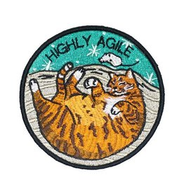 "Stay Home Club ""Agile"" Iron-On Patch by Stay Home Club"