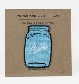 ''Balls'' Jar Patch - Power and Light Press