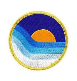 Valley Cruise Press ''Ocean Sunset'' Iron on Patch by Valley Cruise Press
