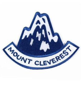 Valley Cruise Press ''Mount Cleverest'' Iron on Patch by Valley Cruise Press