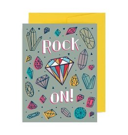Allison Cole ''Rock On'' Greeting Card with Patch - Allison Cole